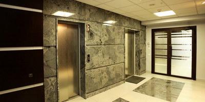 холл лифтовой